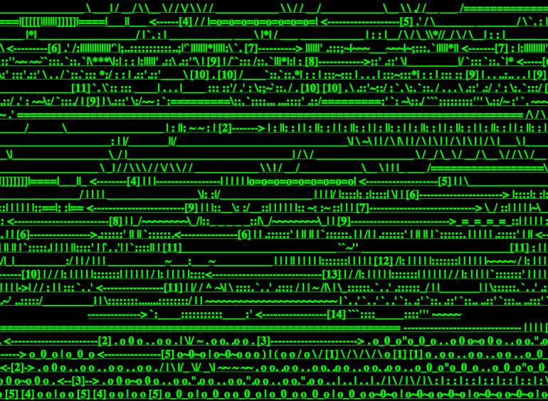 Screenshot from http://wwwwwwwww.jodi.org (1996?, iconic internet artwork by JODI - Joan Heemskerk & Dirk Paesmans)